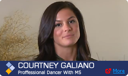 Courtney Galiano, Professional Dancer